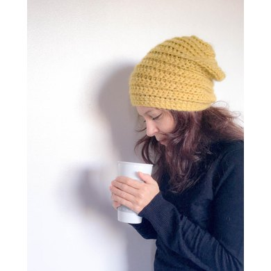 The Beehive Beanie Crochet Pattern By Dora Does