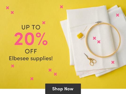 Today only! Up to 20 percent off selected Elbesee supplies
