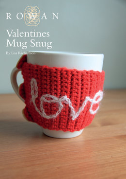 Valentines Mug Snug in Rowan Pure Wool Worsted