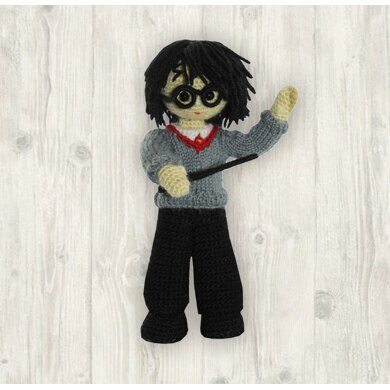 Ragdoll Harry Potter Free Crochet Pattern • Spin a Yarn Crochet | 390x390