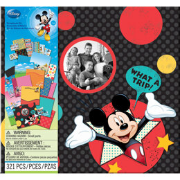 "EK Success Disney Scrapbook Kit 12""X12"" - Vacation"