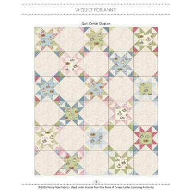 Riley Blake A Quilt for Anne - Downloadable PDF