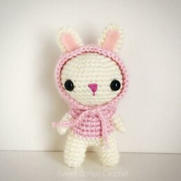 Hooded Bunny Rabbit Amigurumi Doll