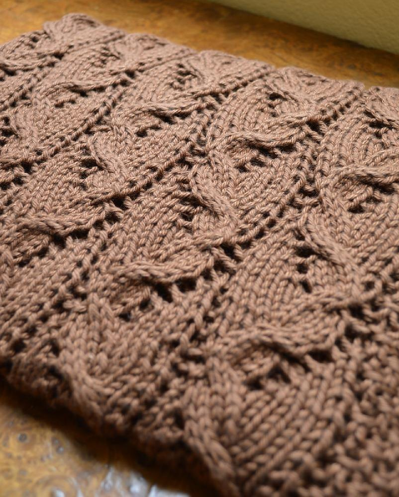 Stylecraft Knitting Pattern Errors : #189 Travelling Cables Blanket Knitting pattern by ...