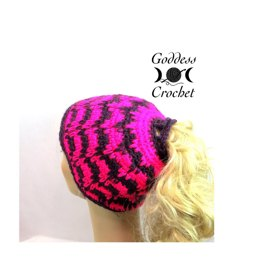 Spiked Punch Ponytail Hat