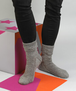 Ame Socks in MillaMia Naturally Soft Sock