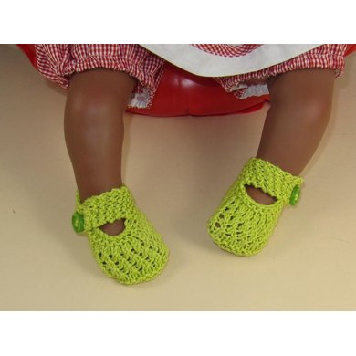 Baby Plain and Simple Lace Pattern Sandals