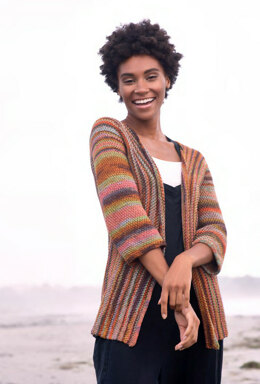 Papakolea Cardigan in Berroco Medina - Downloadable PDF