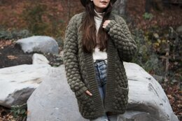 Quilted Sweater Coat