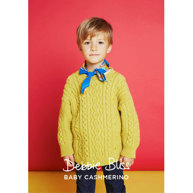 Ethan Sweater in Debbie Bliss Baby Cashmerino - DB201 - Downloadable PDF