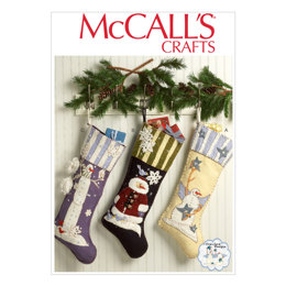 McCall's Christmas Stockings M7063 - Sewing Pattern