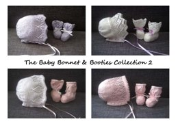 The Baby Bonnet & Booties Collection 2 E-Book (4-ply)