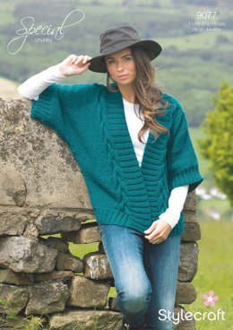 Womens' Jacket in Stylecraft Special Chunky