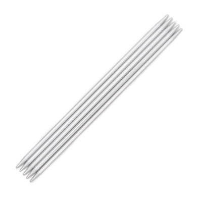 Addi Metal Double Point Needles 15cm (Set of 5)