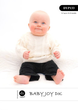 Sweater & Cardigan in DY Choice Baby Joy DK - DYP133