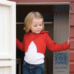 Lotta Bolero in MillaMia Naturally Soft Merino - Downloadable PDF
