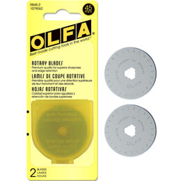 Olfa 45mm Blades For RTY-2/G - 2 Pack
