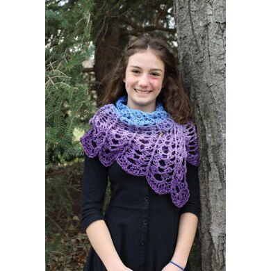 Moonlight and Lace Scarf