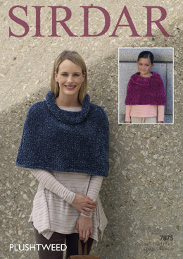 Capes in Sirdar Plushtweed - 7875- Downloadable PDF