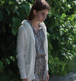Girl's jacket in lace pattern in Schachenmayr Sun City - S9482 - Downloadable PDF