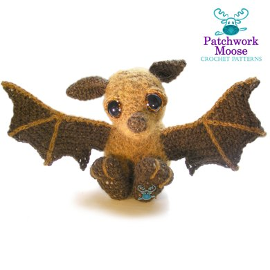Spooky Batty Bat Amigurumi Pattern | 390x390