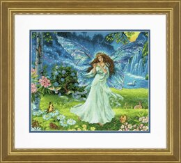 Dimensions Gold: Counted Cross Stitch: Spring Fairy - 36 x 30.5cm