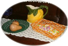 Fruit bowls/bread baskets