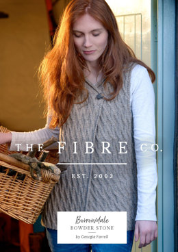 Bowder Stone Waistcoat in The Fibre Co. Lore - Downloadable PDF