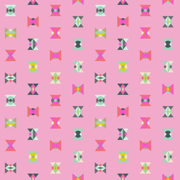 Tula Pink Spirit Animal Arrowheads fabric - Star Light