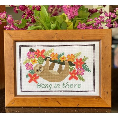 Historical Sampler CompanyHang in There Cross StitchKit