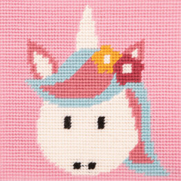 Anchor 1st Kit - Magic Unicorn Tapestry Kit - 15cm x 15cm