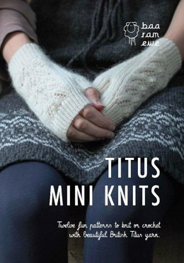 Titus Mini Knits by Verity Britton and Jo Spreckely