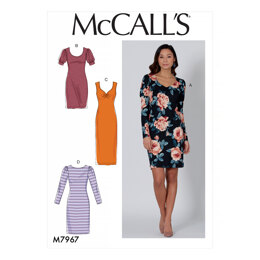 McCall's Misses' Dresses M7967 - Sewing Pattern