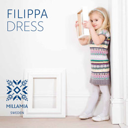 Filippa Dress in MillaMia Naturally Soft Merino - Downloadable PDF