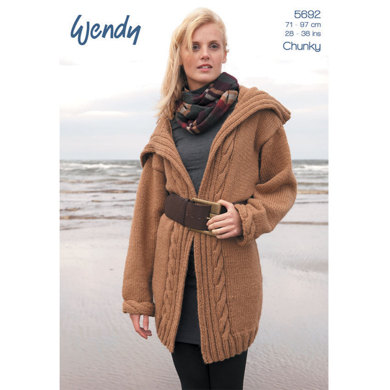 Cable Edge Cardigans - 5692