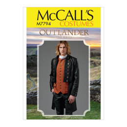 McCall's Men's Costume M7794 - Sewing Pattern