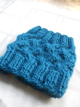 Cabled & Ribbed Boot Cuffs