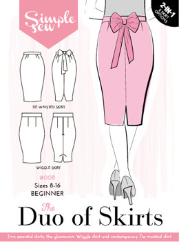 Simple Sew Patterns The Duo of Skirts #008 - Sewing Pattern