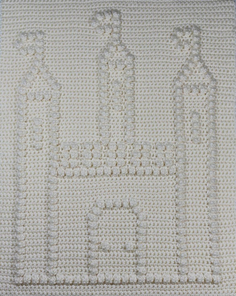 castle baby blanket pattern crochet pattern by the baby crow