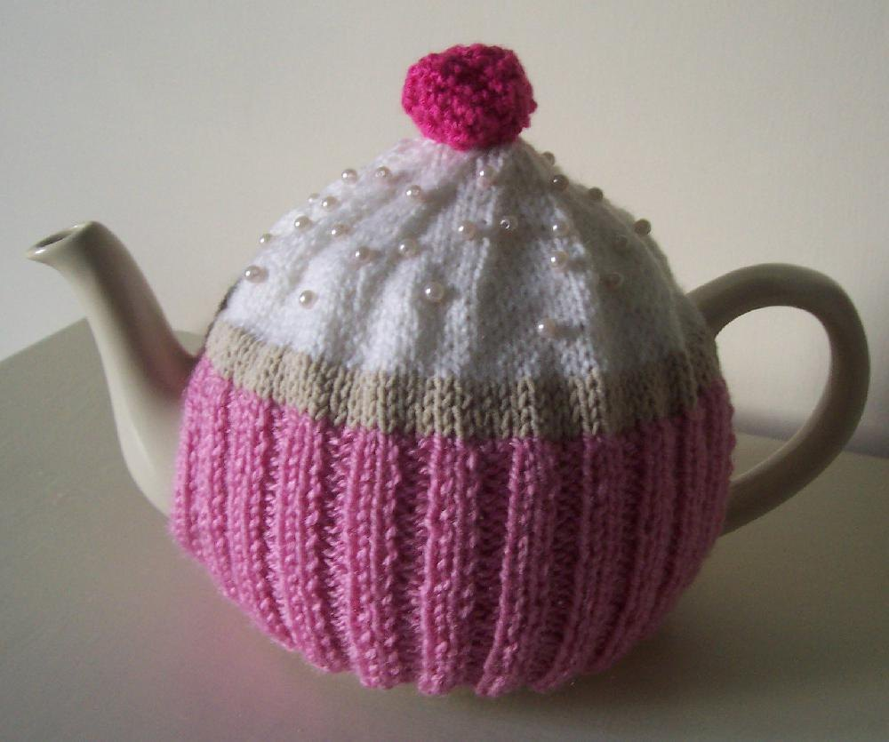 Cupcake Tea Cosy Knitting Pattern By Buzybee Knitting