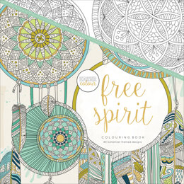 "Kaisercraft KaiserColour Perfect Bound Coloring Book 9.75""X9.75"" - Free Spirit"