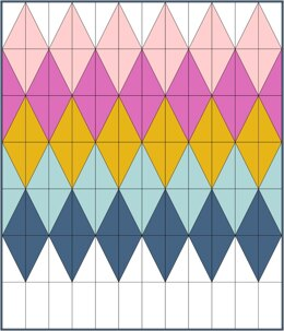 Groove quilt pattern