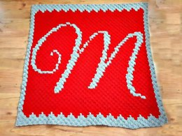 Letter M Baby Afghan