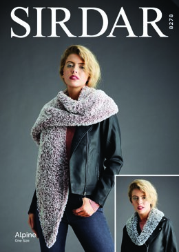 Woman's Accessories in Sirdar Alpine - 8278 - Downloadable PDF