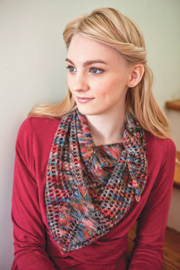 Bleddyn Scarf in Berroco Boboli Lace and Ultra Alpaca Fine - PDF334-2