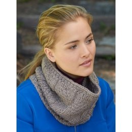 Parallel Lines Cowl in Patons Shetland Chunky