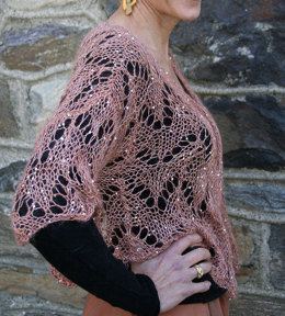 Jacket in Artyarns Beaded Mohair and Sequins - I121