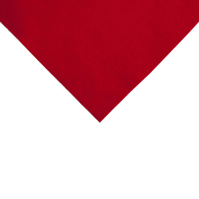 Groves Acrylic Felt Piece - Red (9in x 12in)