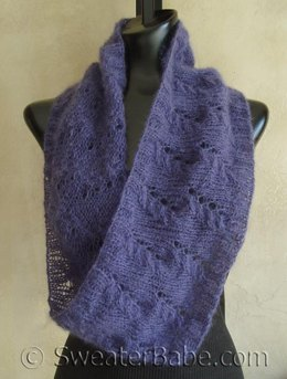 #104 Mohair Lace Mobius Cowl
