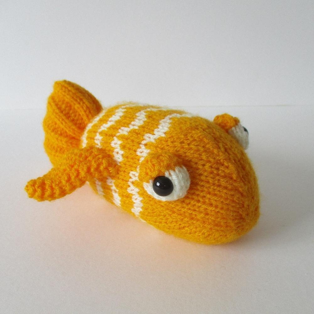 George the Goldfish Knitting pattern by Amanda Berry | Knitting ...